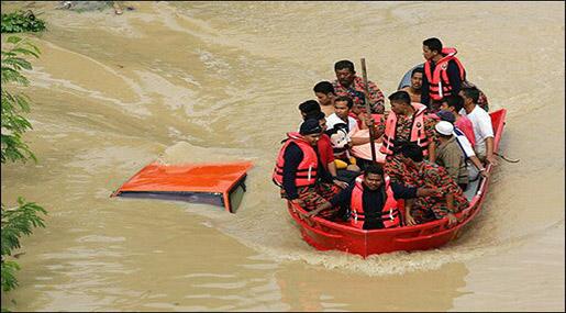 Malaysia Seasonal Floods Displace 23,000