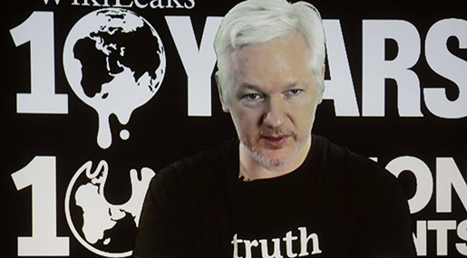 Assange Dismisses US Report on Russian 'Hacking'