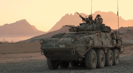 Canadian light armored vehicle