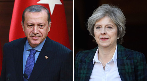 UK PM Visits Ankara for Trade Talks amid Turkish Rights Abuses
