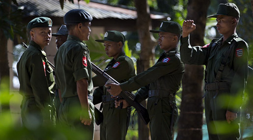 Myanmar's Government Accused of Whitewash