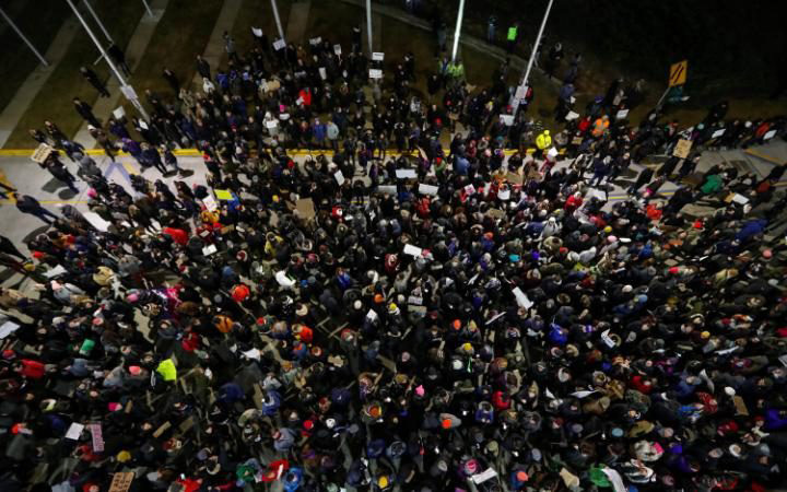 Protests Against Trump Ban: In Pictures