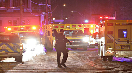 Terrorist Attack on Canadian Muslims: At Least 6 killed in Quebec City Mosque