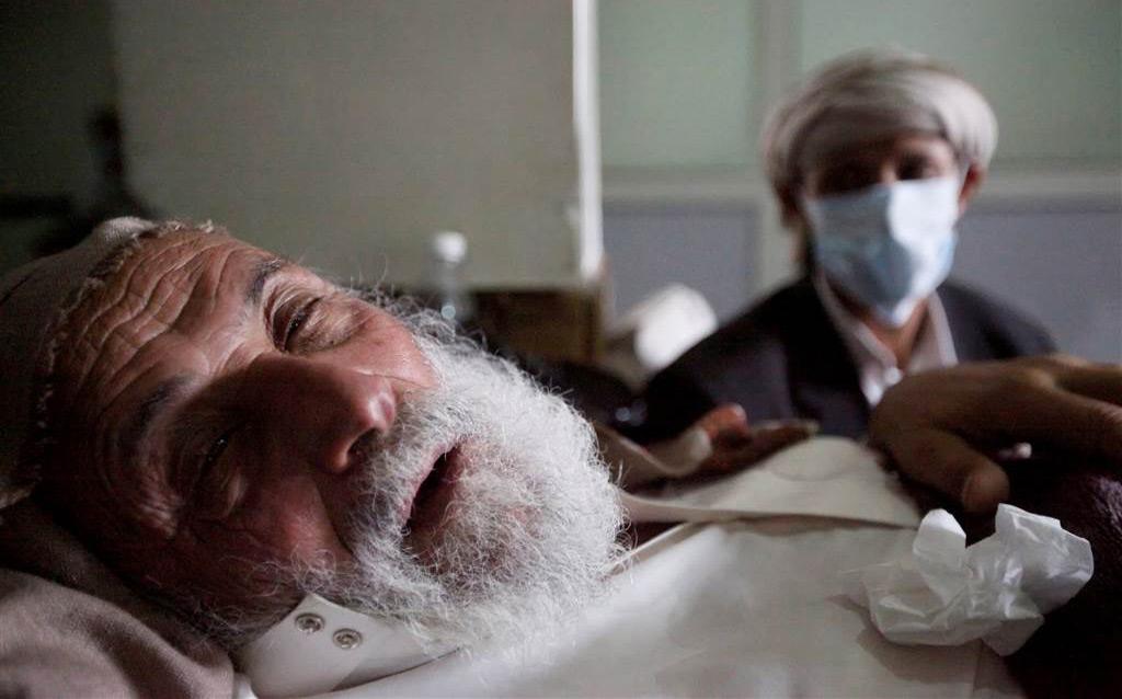 Old Yemeni man