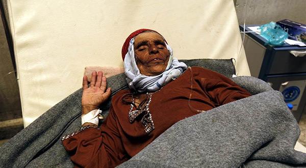 Old Yemeni woman