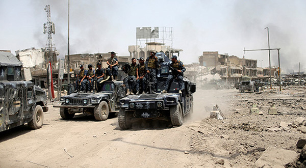 Battle for Mosul: 300 Daesh Militants Holed Up in City