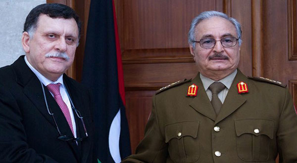 UN-Backed Libya PM to Meet Eastern Country's Strongman in France