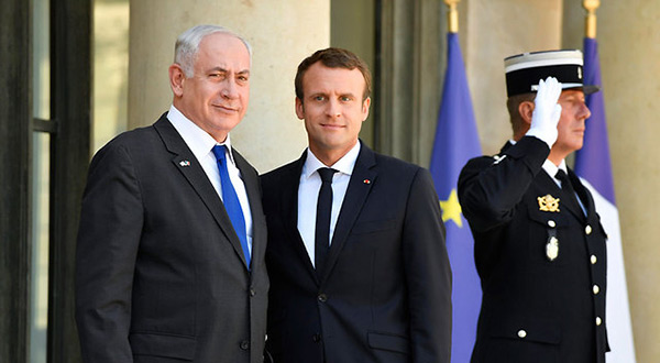 French President Emanuel Macron and