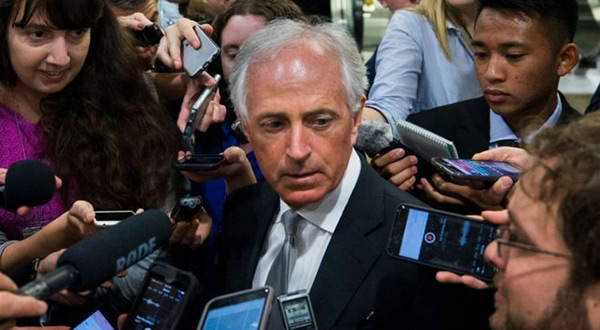 Bob Corker, the chairman of the Senate foreign relations committee