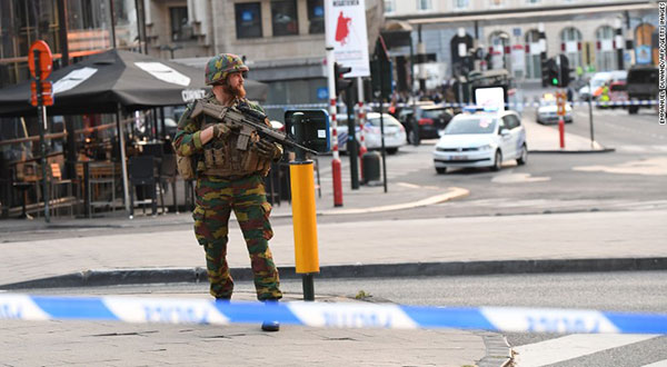 Terror Suspect Shot Dead at Brussels Central Railway Station