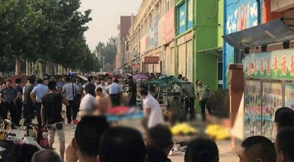 China Kindergarten Blast Was Bomb, Suspect Killed