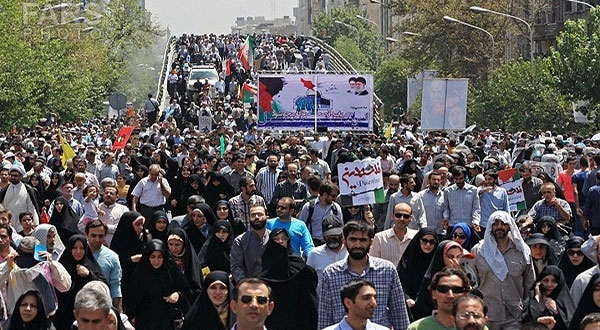 World Muslims Mark Quds Day with Massive Rallies