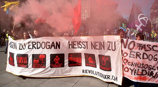 Anti-Erdogan protest