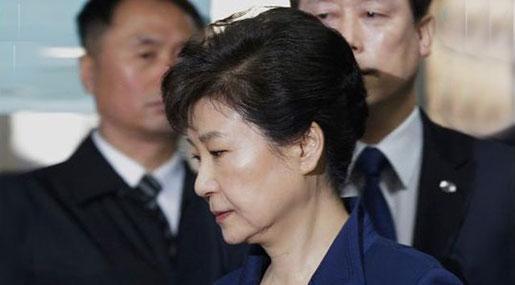 South Korea's President Park Arrested