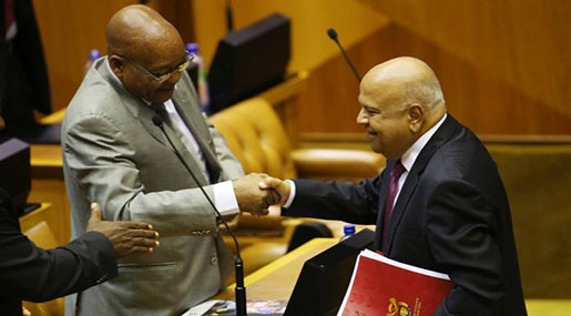 South African Cabinet Officially Reshuffled