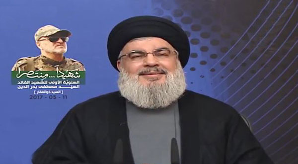 Sayyed Nasrallah's Full Speech on Memorial Ceremony of Martyr Leader Mustafa Badreddine