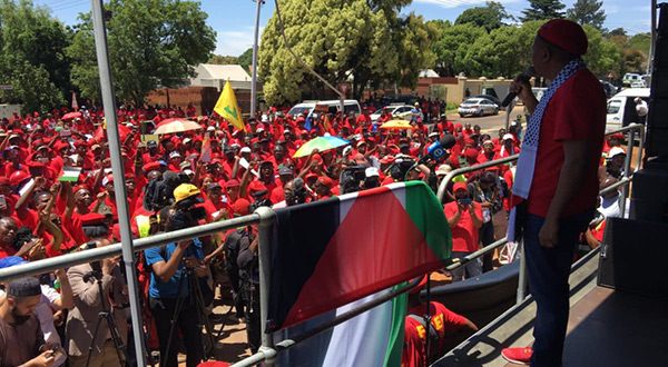 Hezbollah Flags Fly in South African Anti-«Israeli» March