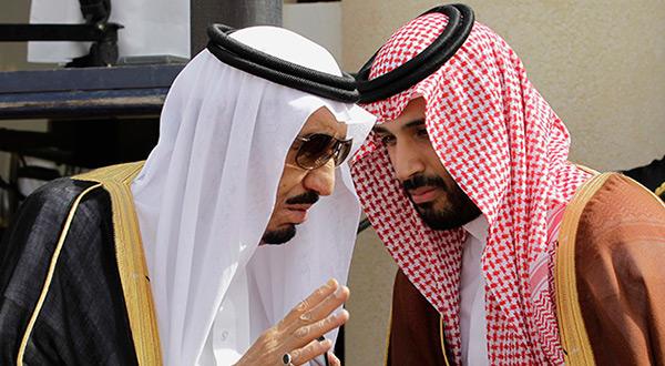 King Salman and Crown Prince MbS