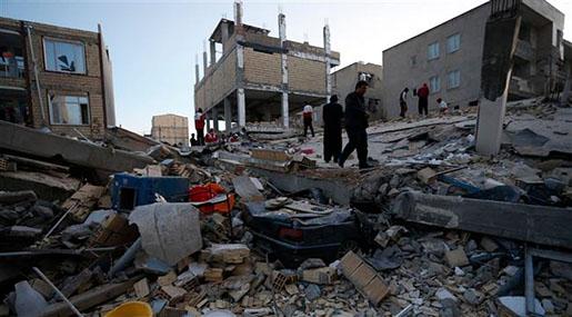 Iran-Iraq Earthquake: More than 450 People Killed