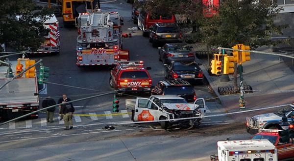 NY under Attack: 8 People Killed