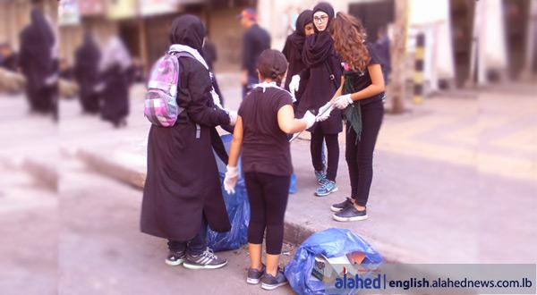 Ashura volunteers