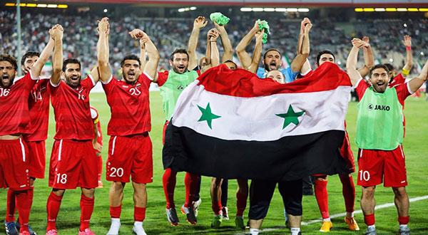 Syrian football team