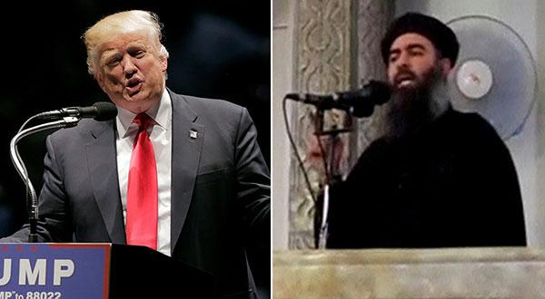 Trump - al-Baghdadi