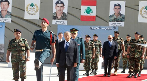 Lebanon Pays Tribute for Slain Soldiers in Official, Popular Funeral