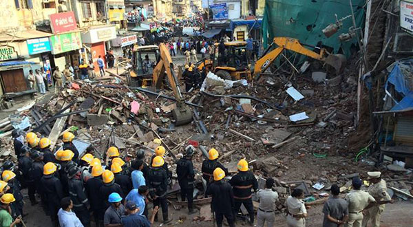 Mumbai Building Collapses, 34 Killed