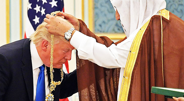 Alahednews:Trump Received 83 Gifts from Saudi Arabia!