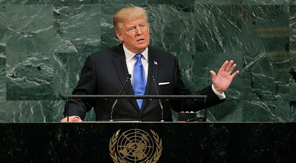 Trump at the UN