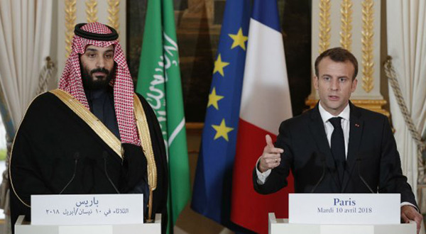 Macron Defends French Arms Sales to Saudi Arabia