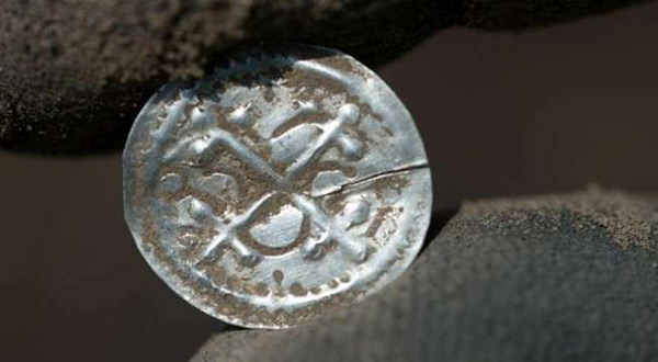 Old Danish coin
