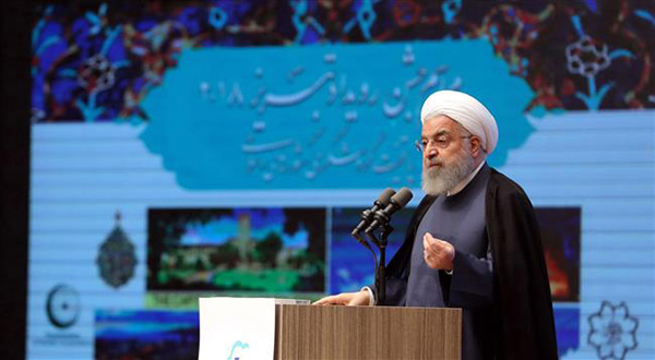 Rouhani: WH in No Position to Decide For Middle East