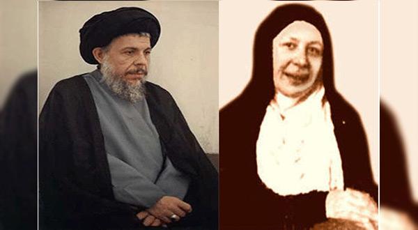 Martyr Amina al-Sadr and her brother Grand Ayatollah Muhammed Baqir al-Sadr