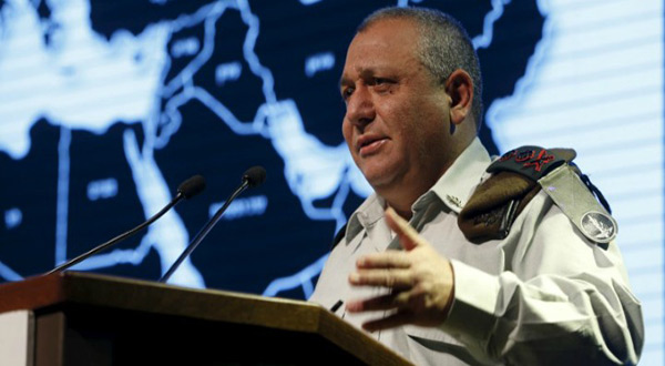 IOF Chief of Staff Lt. Gen. Gadi Eizenkot