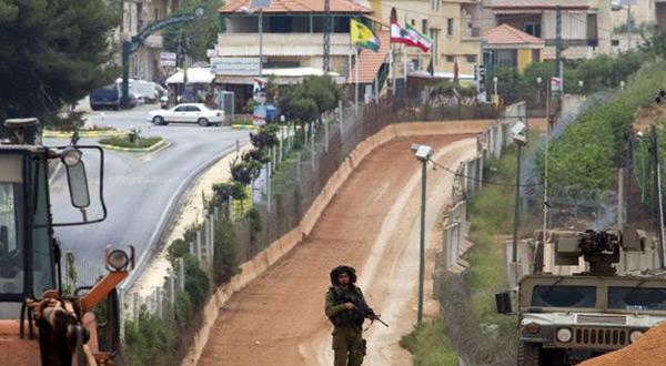 """Israeli""-Lebanon border"