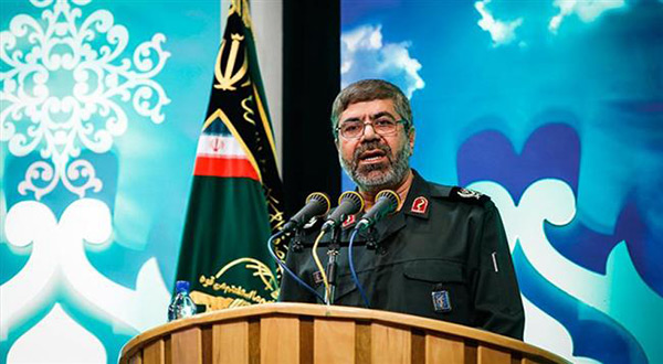 Brigadier General Ramezan Sharif, the spokesman for Iran's Islamic Revolution Guards Corps (IRGC)