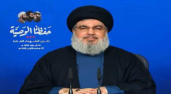 Hezbollah secretary General Sayyed Hassan Nasrallah