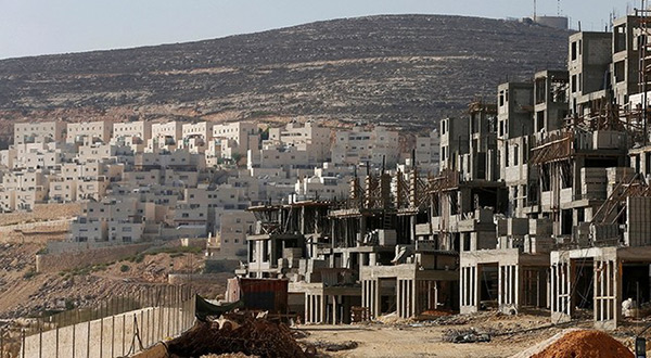 Construction of illegal settlements in al-Quds