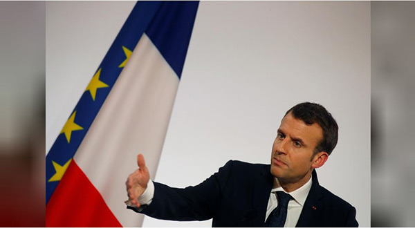 France's Macron Warns Turkey over Syrian Offensive