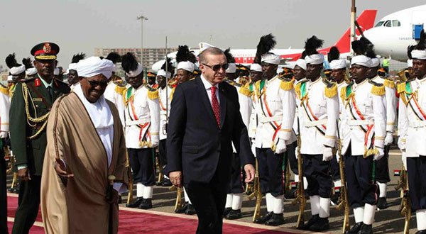 Sudan Recalls Envoy to Egypt after Erdogan Visit