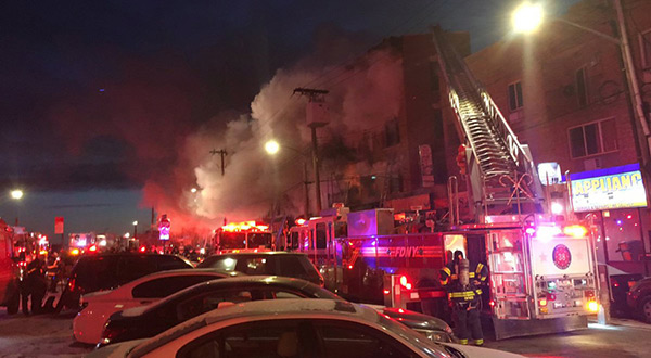 Bronx Fire: Blaze Engulfs Building, Multiple Injuries Reported