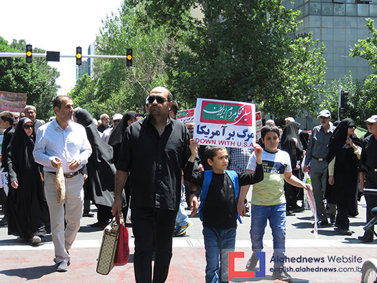 Tehran Rallies for Al-Quds, Palestine