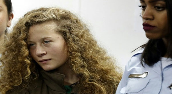 Ahed Tamimi Jailed Eight Months in Plea Deal
