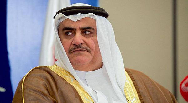 Bahraini FM Khalid bin ahmend