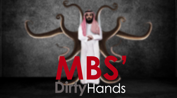 MBS' Dirty Hands
