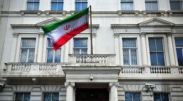 Iranian embassy in London, UK