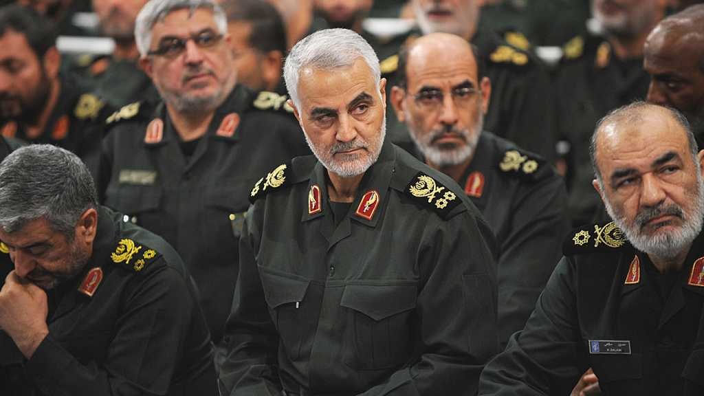 "Soleimani Praises Rouhani in Face of ""Israel"", US: At Your Service"