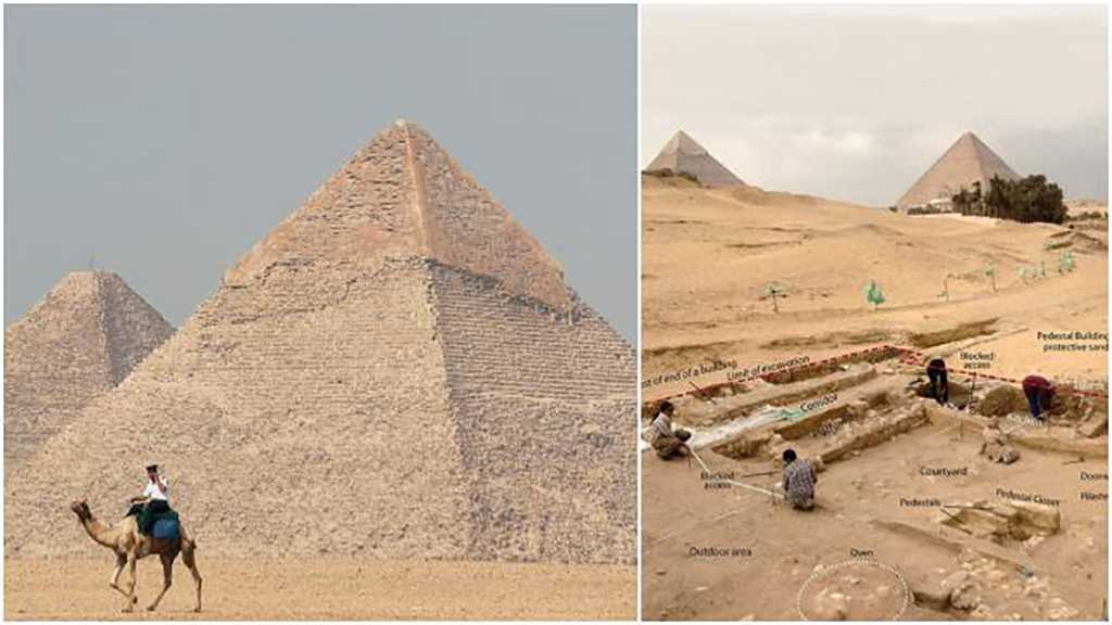 Two 4,500-Year-Old Houses Discovered Near Egypt's Giza Pyramids